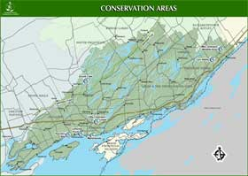 Small image of conservation areas map.